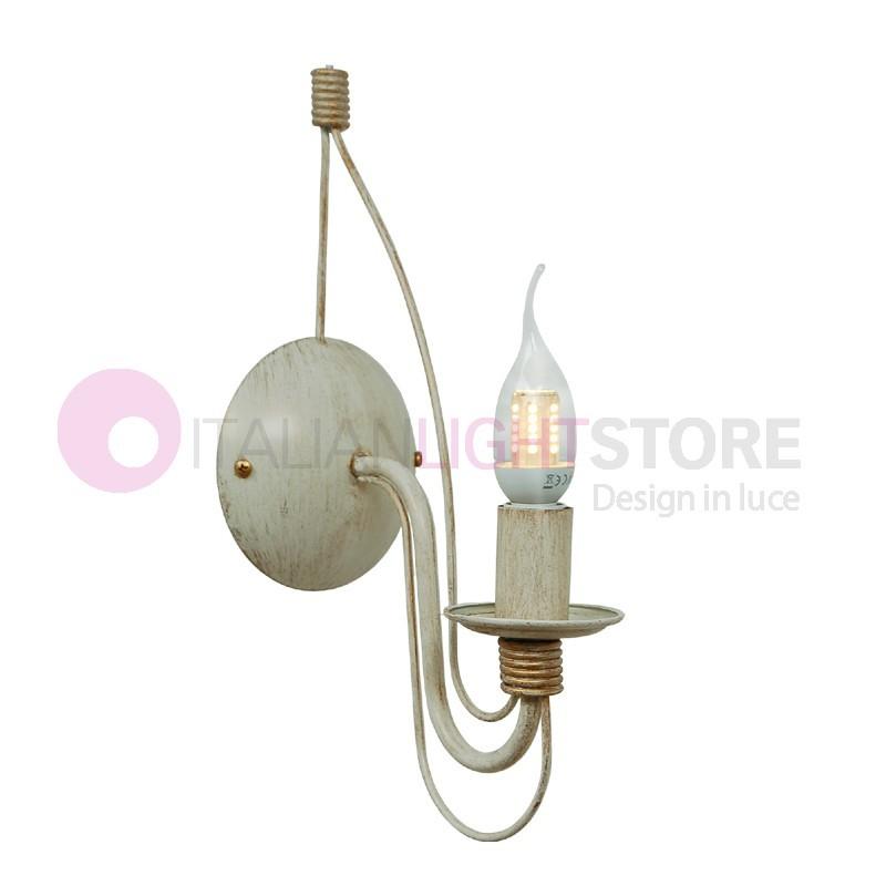 Fiammingo lampada da parete Applique Rustico Candelabro