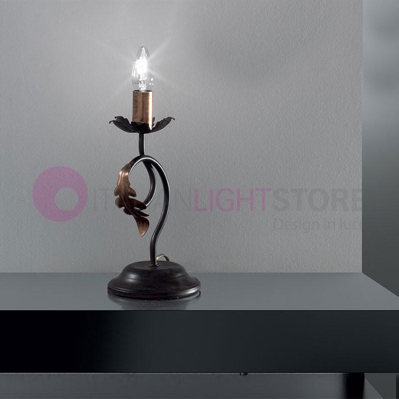 lucy lampe lampe de table lampe de table abat jour de campagne rustique. Black Bedroom Furniture Sets. Home Design Ideas