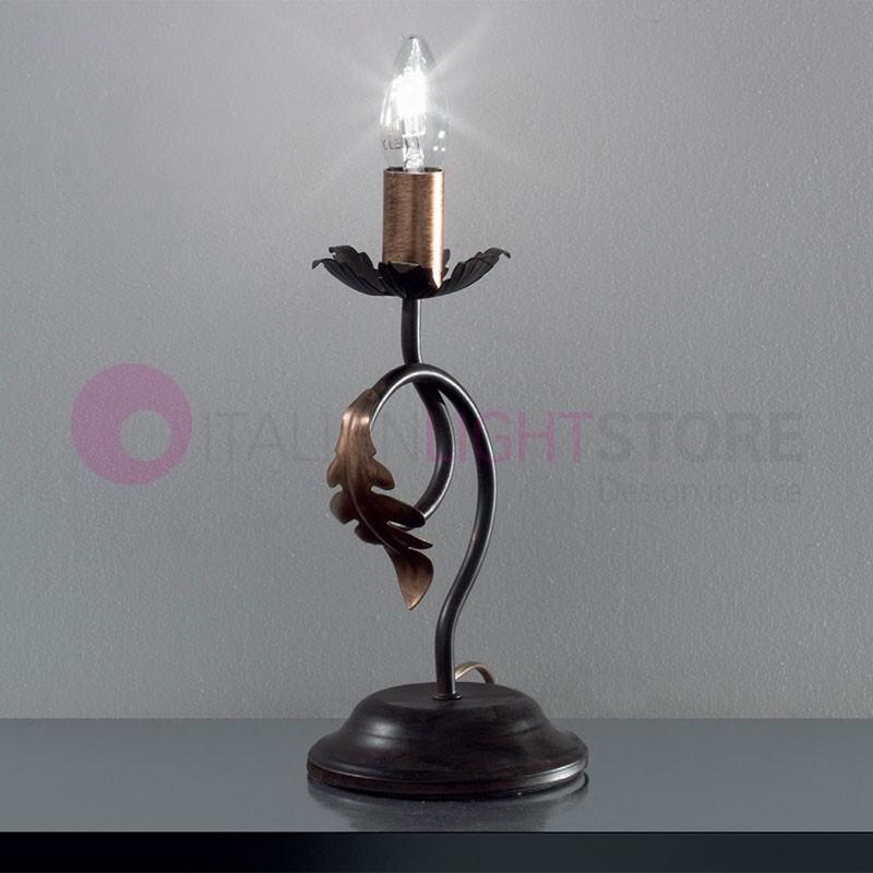 Fer En Lampe De Rustique Forgé Lucy Table Florentine HWYeED2Ib9