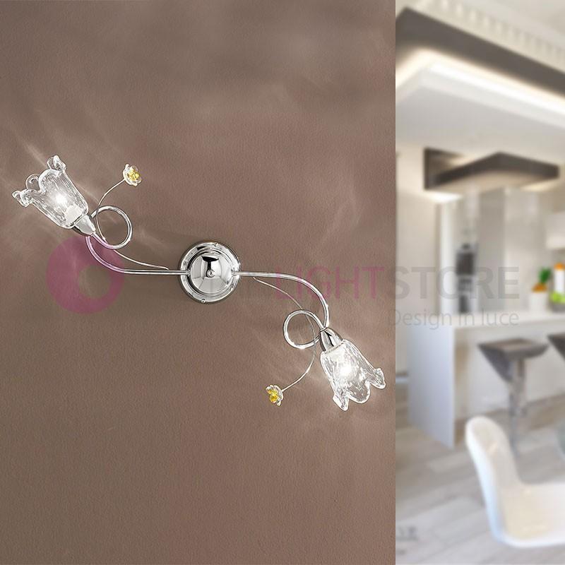 BETTA light fixture on the Ceiling and Wall 2 Light Chrome Modern