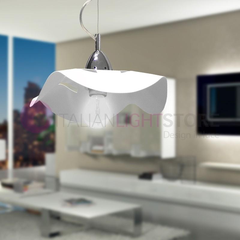 FLY Suspension Lamp White Modern d. 30 cm