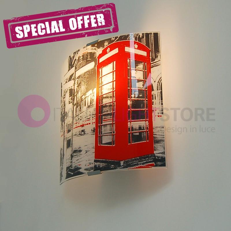 LONDON STREET Applique, silk-screened Modern Design - BID the LAST few PIECES