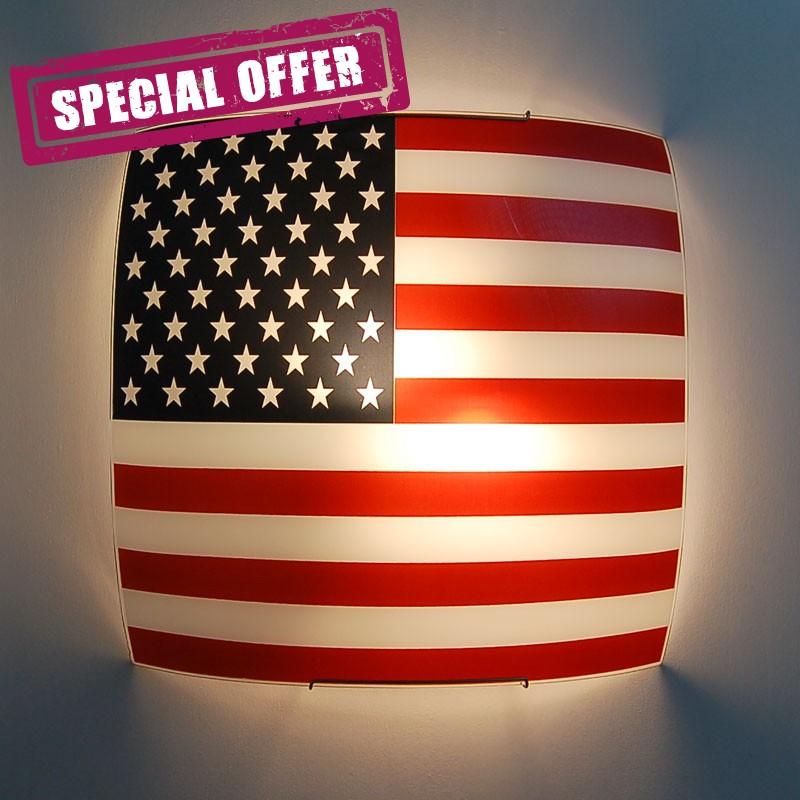 USA FLAG Ceiling light American Flag 40x40