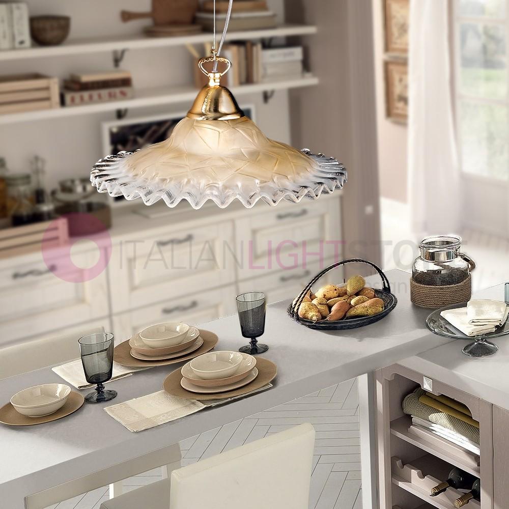 ANITA pendant Lamp, Classical Glass D. 30