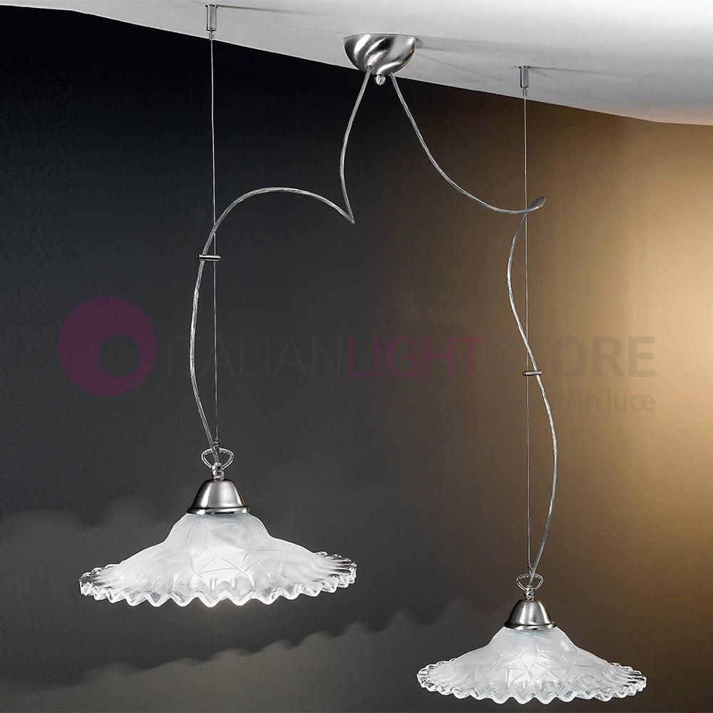 classic pendant lighting. ANITA Pendant Lamp, Classic 2 Light Glass D. 30 Lighting