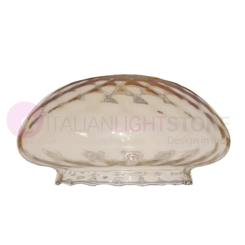 AMBER Vetro Ambra Ricambio per Plafoniera illuminazione Esterno