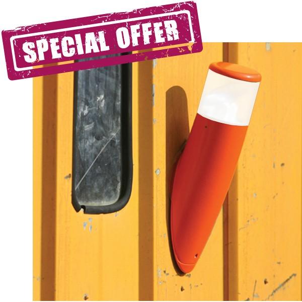 Offre Partir Design De À Moderne Stock Bambou Applique Murale Orange Fineserie L'extérieur 54AjLR3