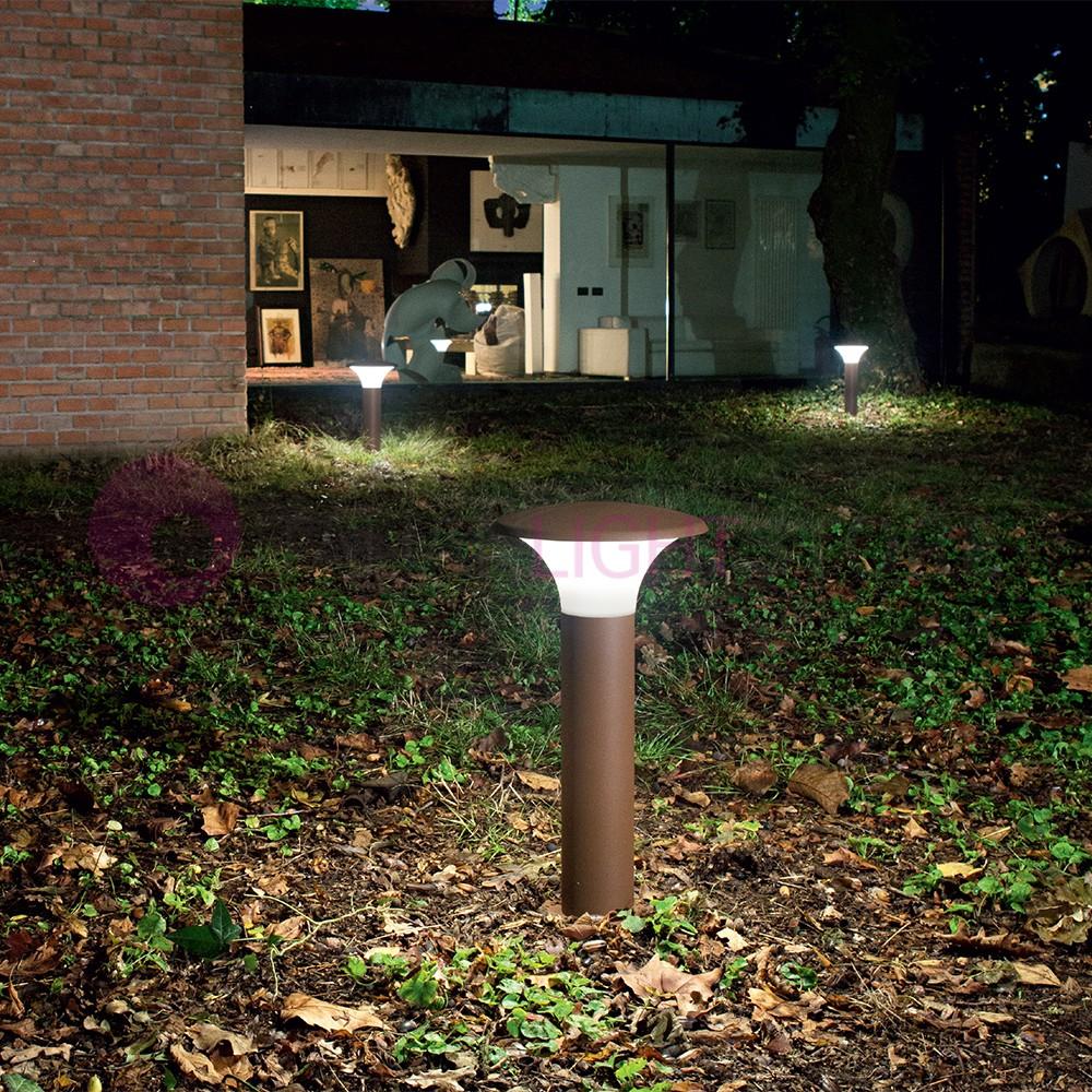 HOUSTON Lampioncino Paletto h. 50 cm da Esterno Moderno IP44