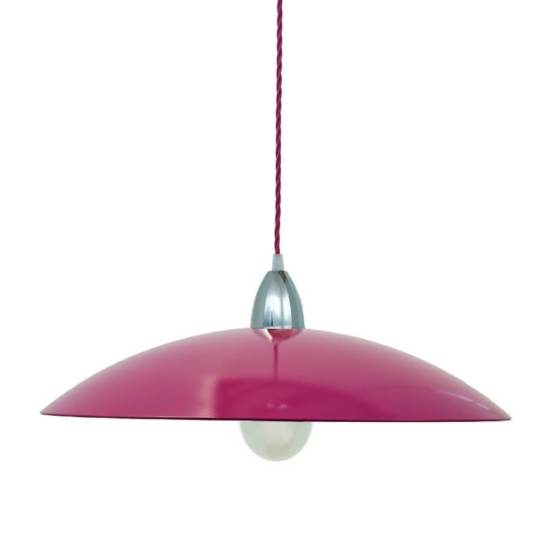 FLO' Sospensione Vetro Colorato d.50 Design Moderno Cucina