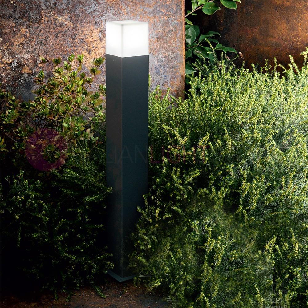 SEATTLE Lampioncino Paletto h. 60 cm da Esterno Moderno IP44