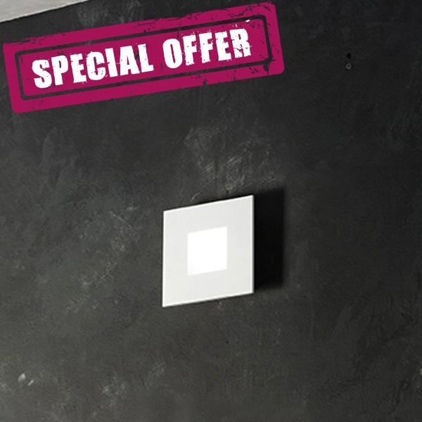 6290 Plafoniera LED da Soffitto Parete 15X15 - OFFERTA POCHI PEZZI
