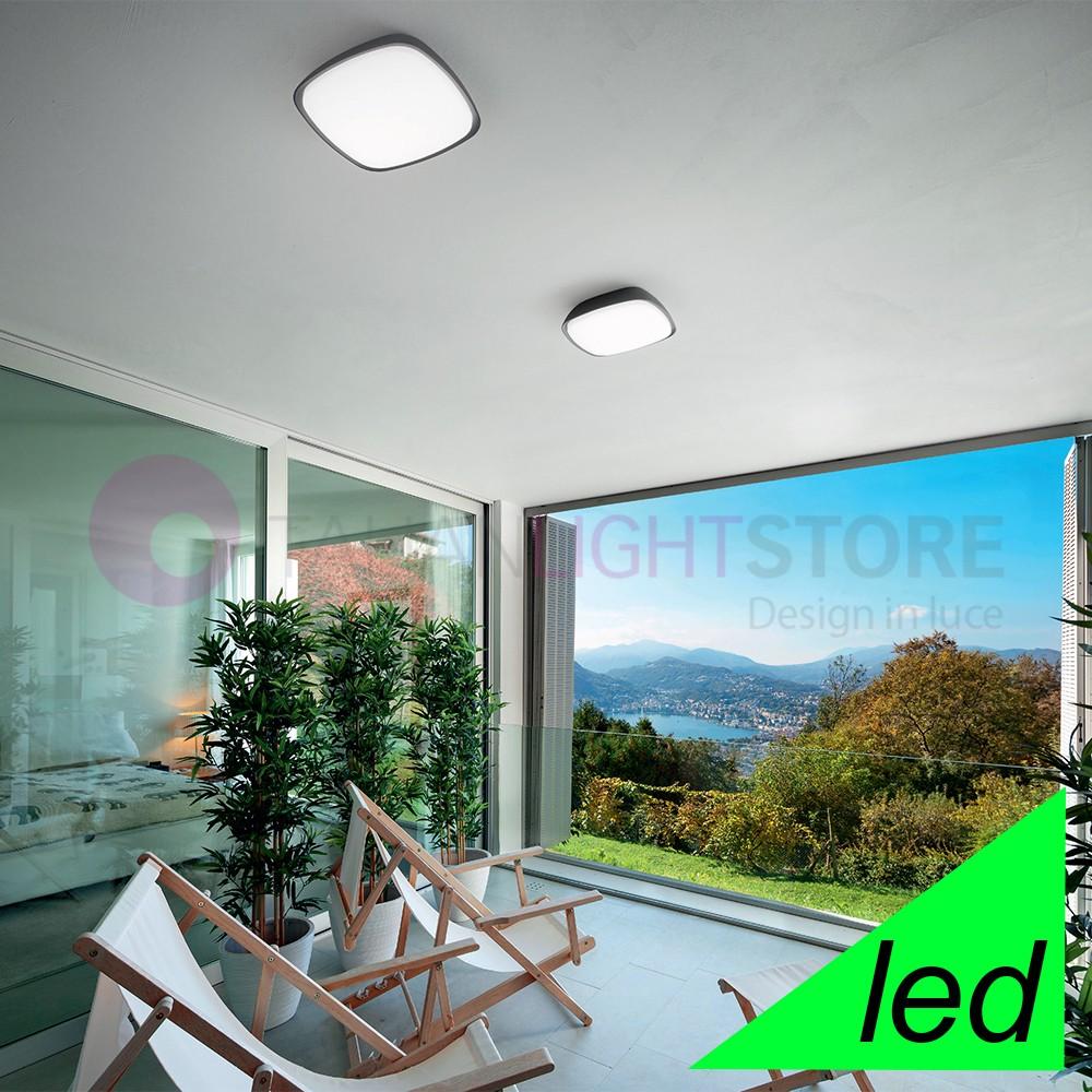 CAMBY Lampada a Parete e soffitto Moderna a Led IP65 per Esterno