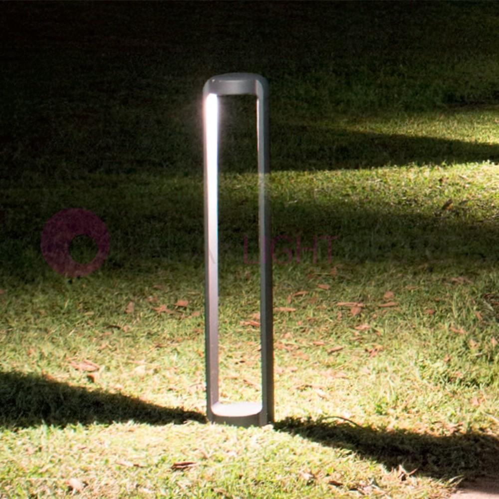 Mistu Lampione Da Giardino 3 Luci Design Moderno Ip44