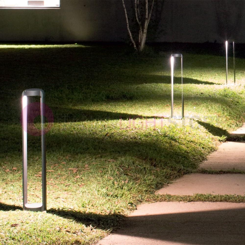 Arizona lampione a led da esterno moderno ip65 gea ges442 for Illuminazione da giardino a led