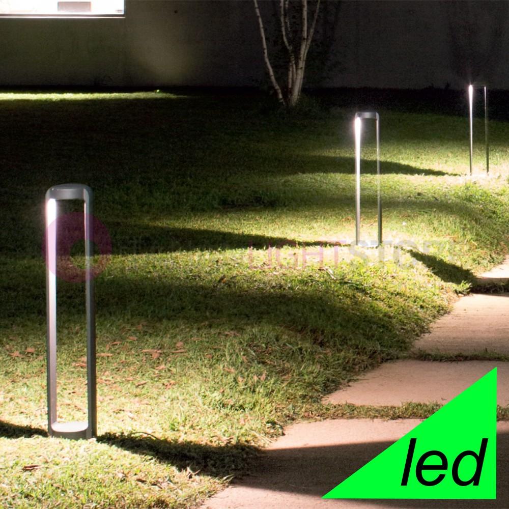Lampioni da giardino rustici o di design italianlightstore for Luci da giardino