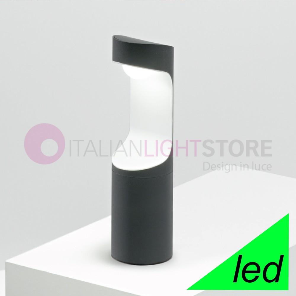 OREGON Lampioncino a Led Moderno da Esterno IP54 Illuminazione Design