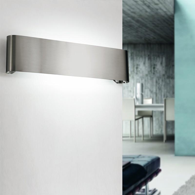 SIRTAKI Applique da Parete Fascia in Metallo Design Moderno