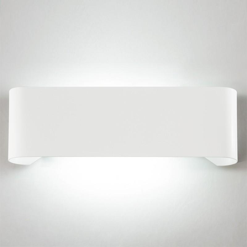 SIRTAKI Applique da Parete Fascia in Metallo L. 48 Design Moderno