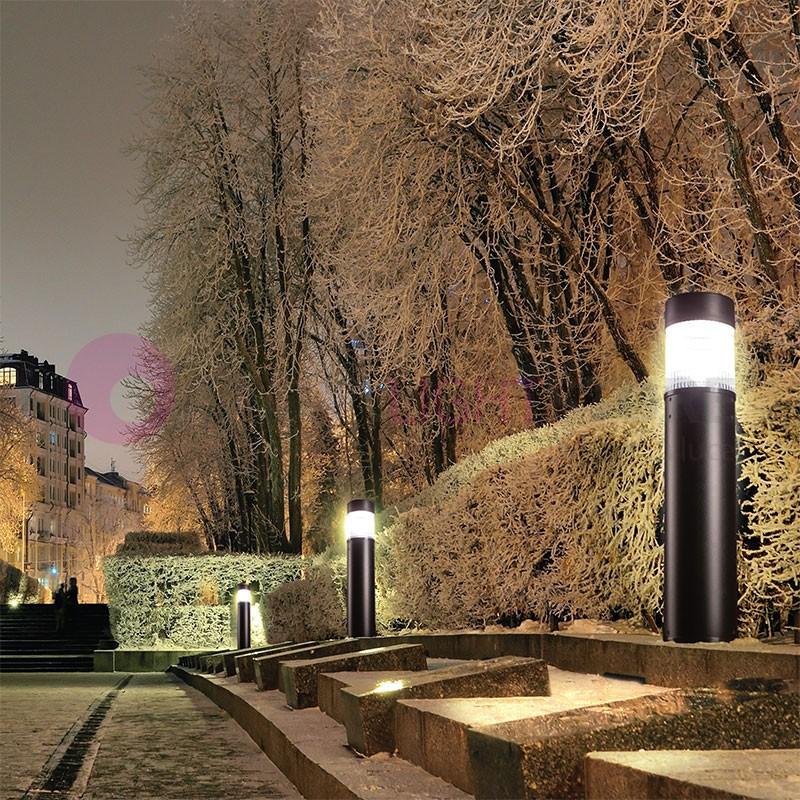Bollard flat paletto moderno cm illuminazione giardino duralite - Illuminazione giardino ...