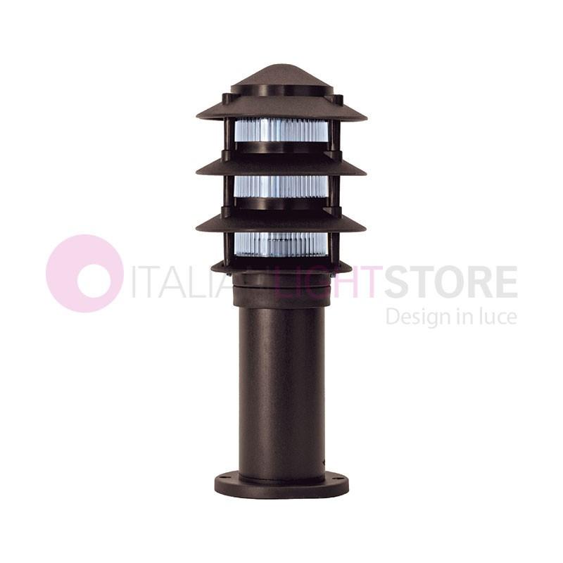MINILITE Paletto Lampioncino Moderno h. 38 cm Illuminazione Giardino