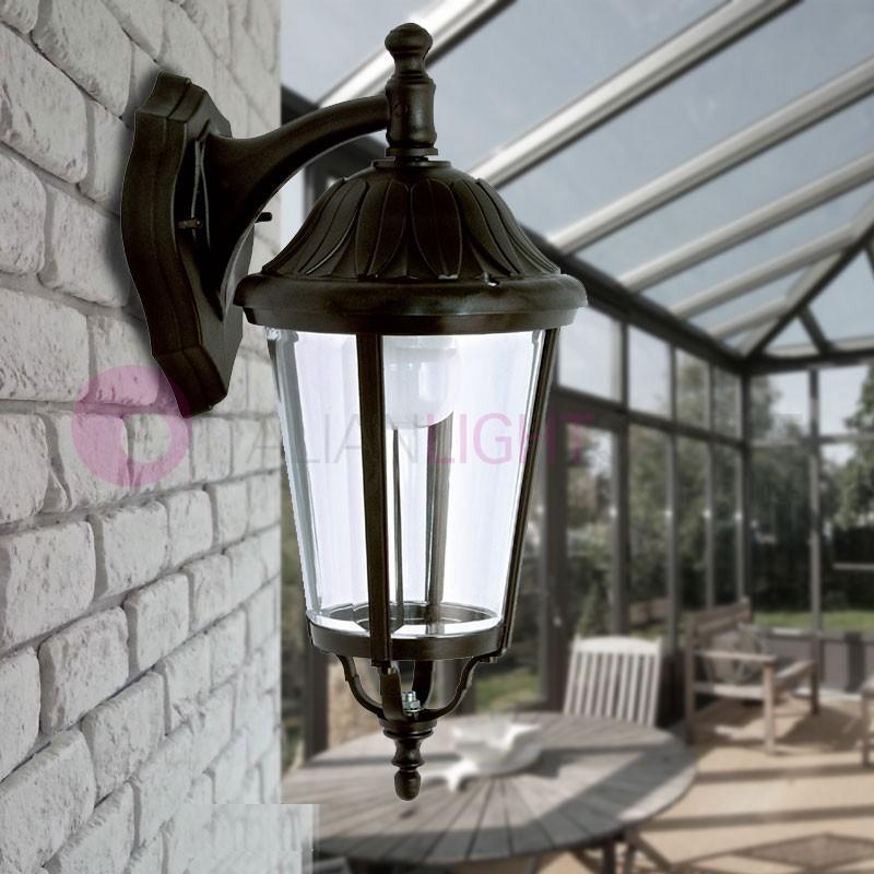 ANNECY Lanterna a parete per Esterni Classica Tradizionale h.50 cm