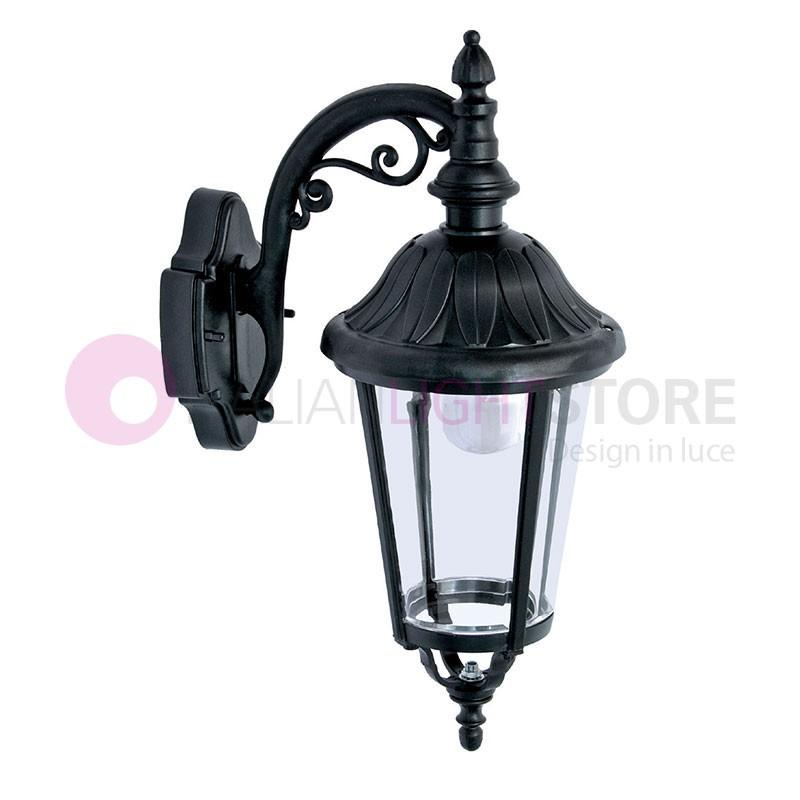 ANNECY Lanterna a parete per Esterni Classica Tradizionale h.52 cm