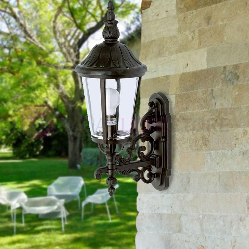 ANNECY Lanterna a parete per Esterni Classica Tradizionale h.53 cm
