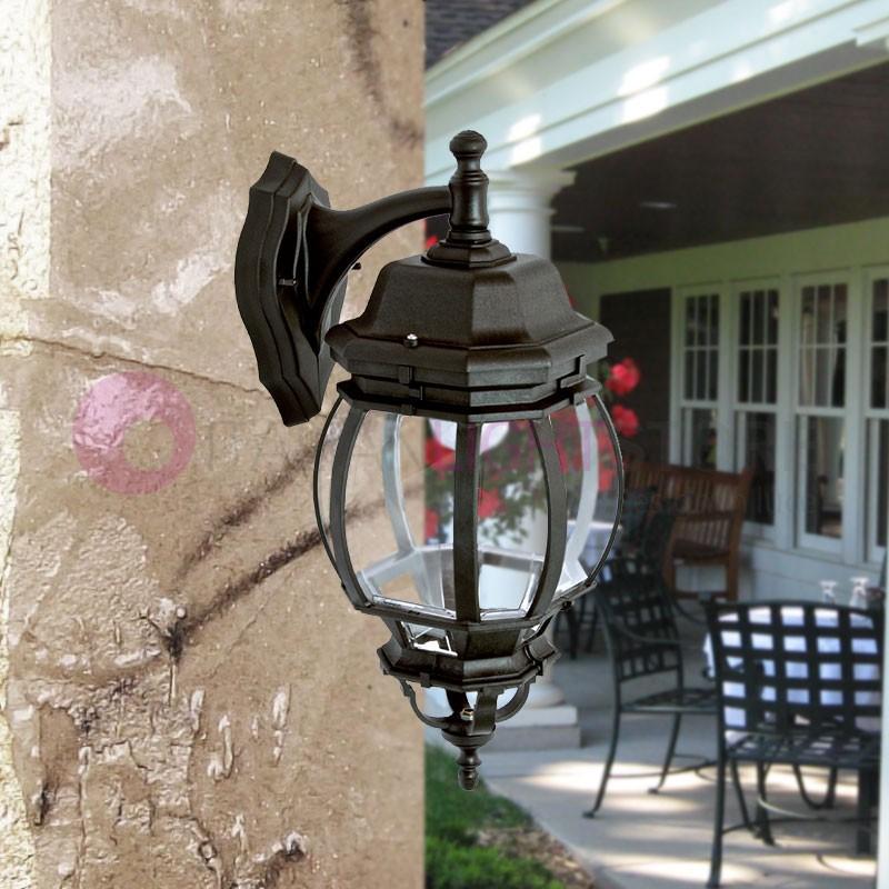 BOSTON GRANDE Lanterna a parete per Esterni Classica Tradizionale