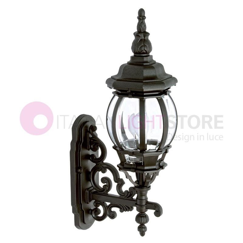 BOSTON Lanterna a parete per Esterni Classica Tradizionale h.58 cm
