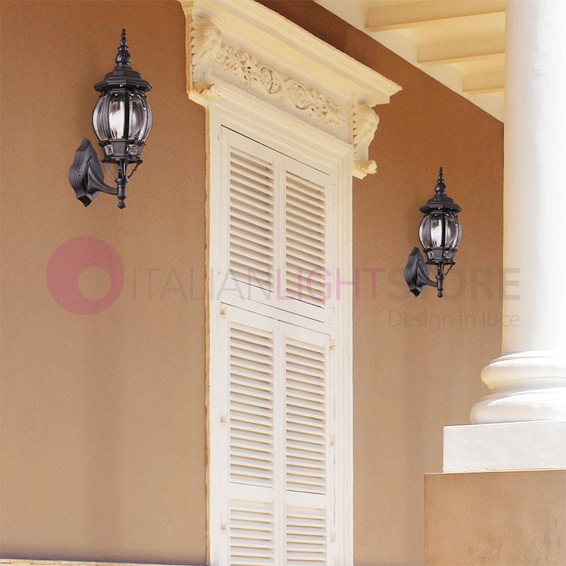 BOSTON Lanterna a parete per Esterni Classica Tradizionale h.50 cm