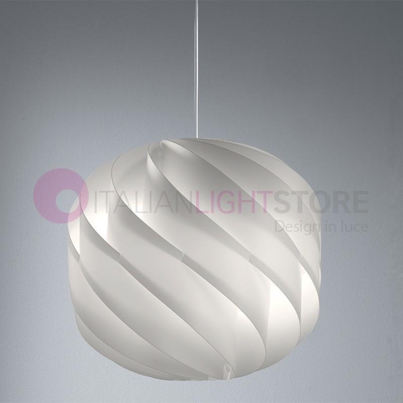 GLOBE Lampada a Sospensione Materiale Plastico D.40 Design Moderno