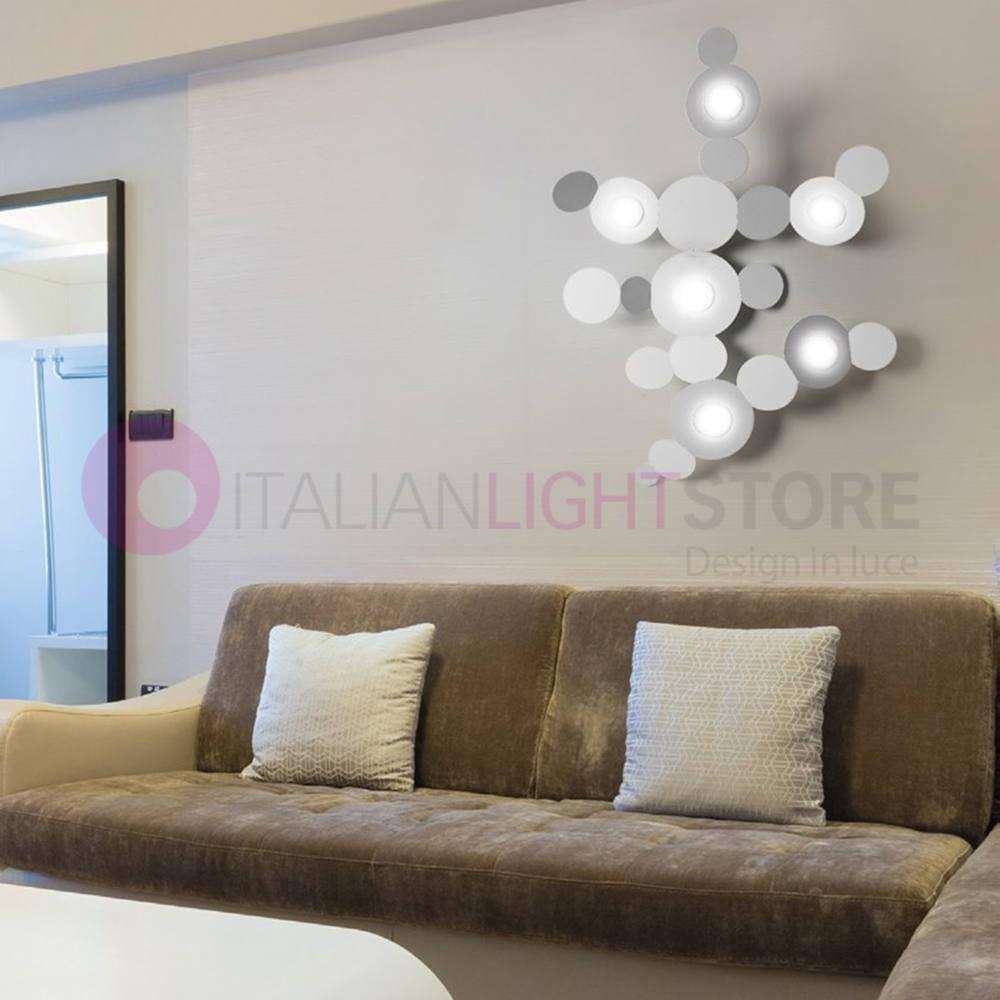 Mickey Lampe De Plafond 861 6pa Design Moderne Cattaneo
