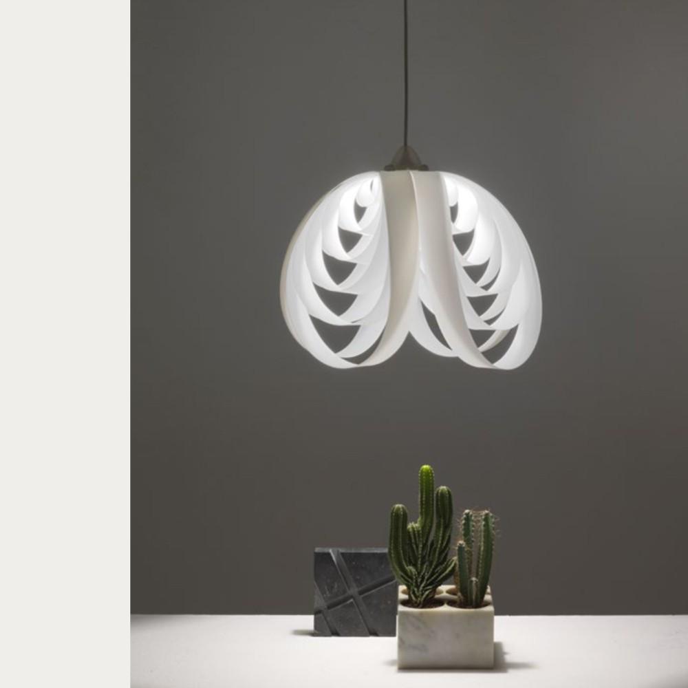 suspension abat jour en tissu italian light store on ligne italianlightstore. Black Bedroom Furniture Sets. Home Design Ideas