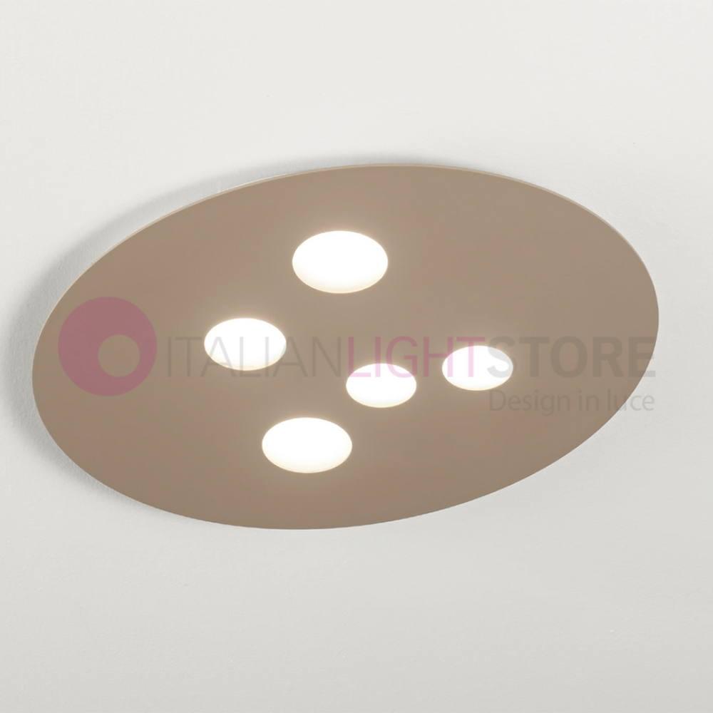 Moon Ceiling Light White Or Dove Grey 50x60 Modern Gea Light