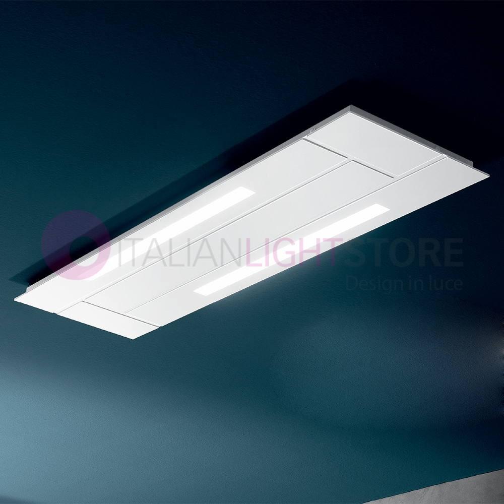 Berne Du PlafondRectangulaire Led De Moderne L92x28 Lampe La Blanche Lumière XlPuOZTkiw