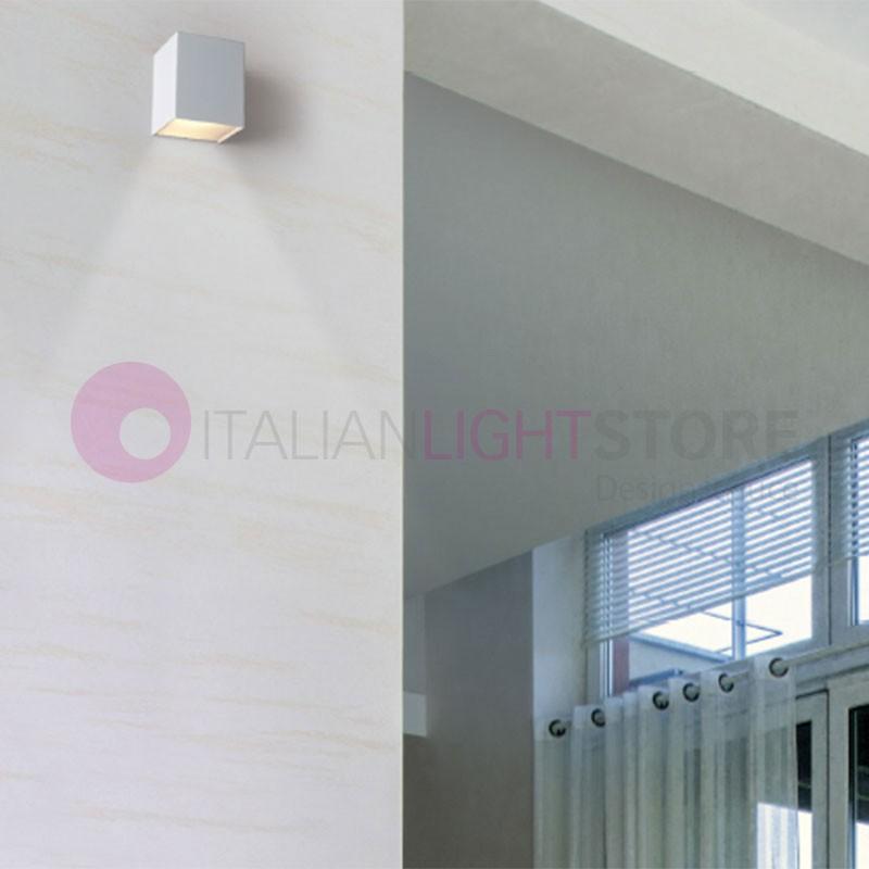 Dab Spotlight 4 Lights Adjustable White Led Modern Design
