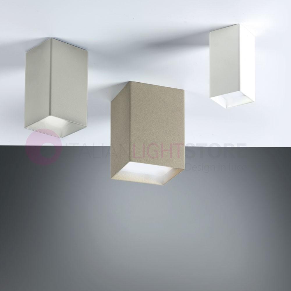 Faretti Led Per Soffitto.Cubick Faretto Led Da Soffitto L 9 5 Design Moderno