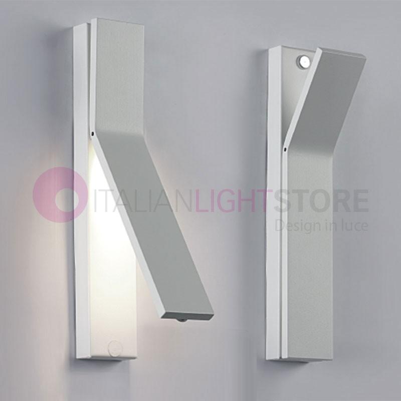 On off cattaneo lampada led da parete camera italianlightstore - Applique led per camera da letto ...