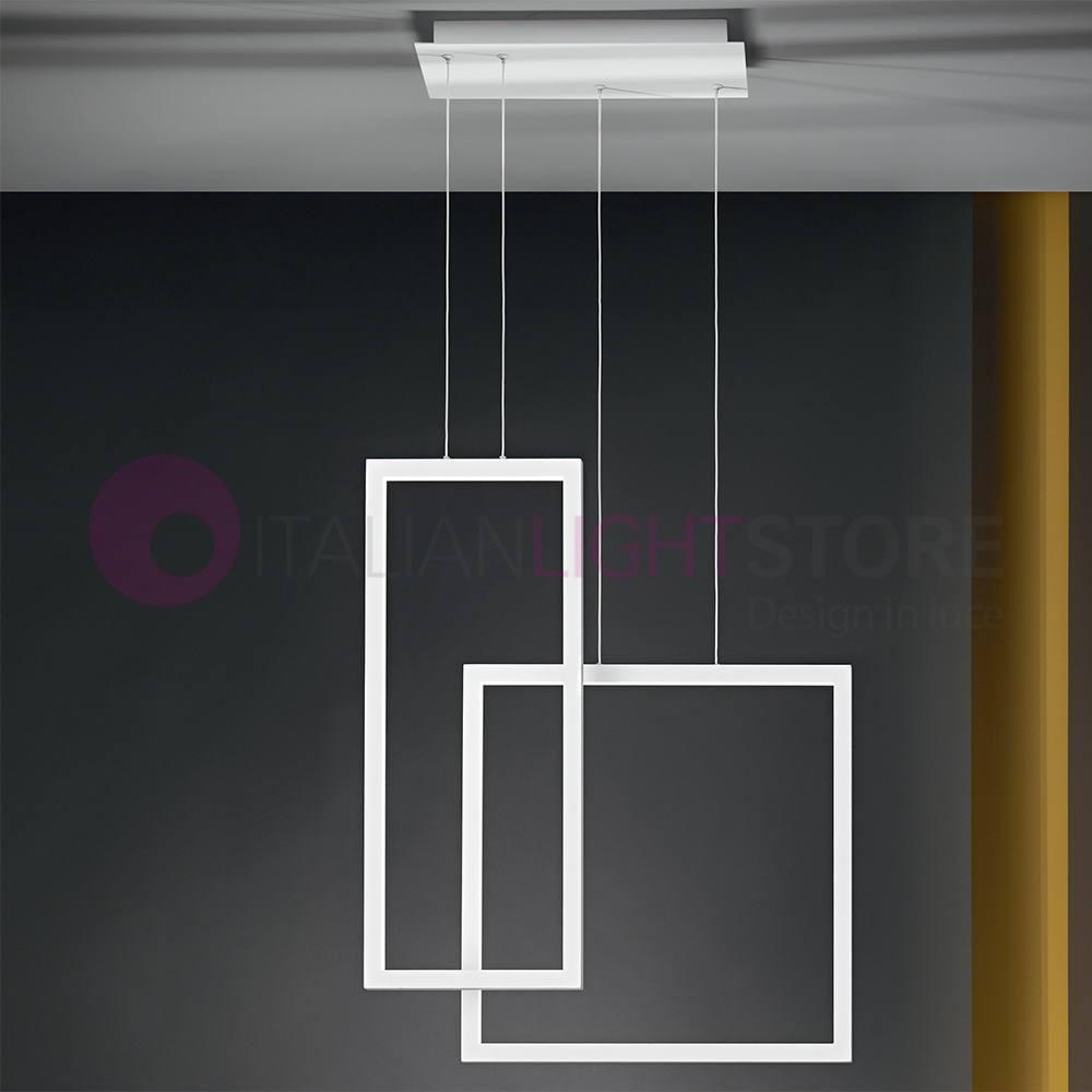 Suspension De Led Lampe Moderne Croix Design QexrCWBod
