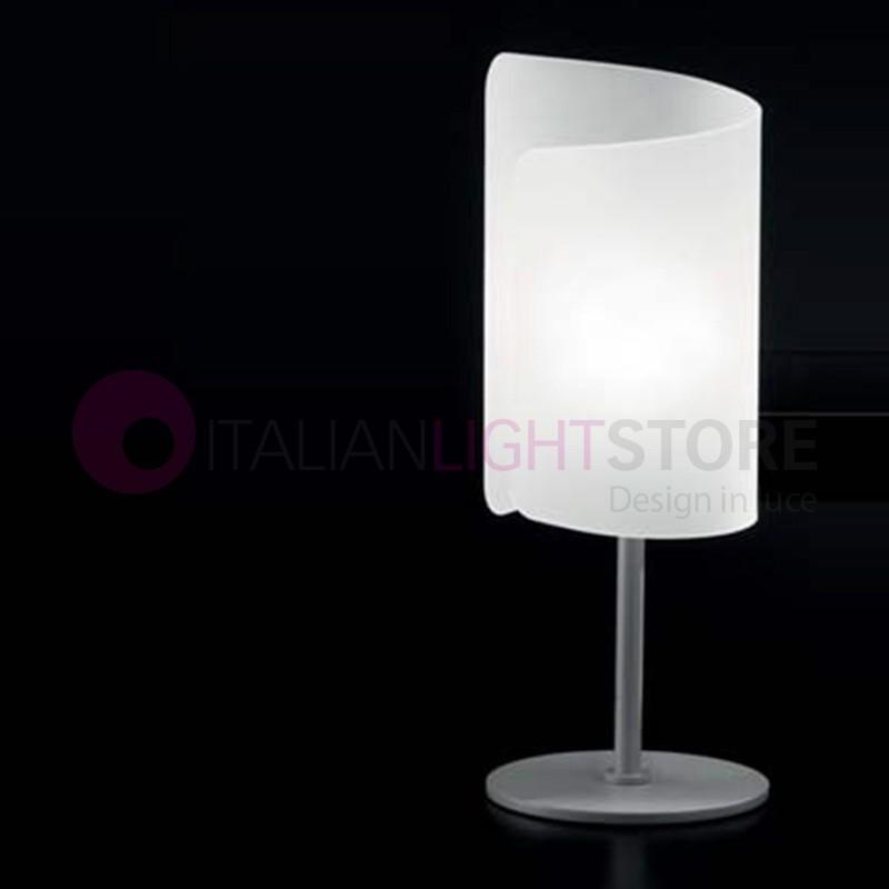 Papyrus 0380 Selene Illuminazione Table Lamp Crystal Modern