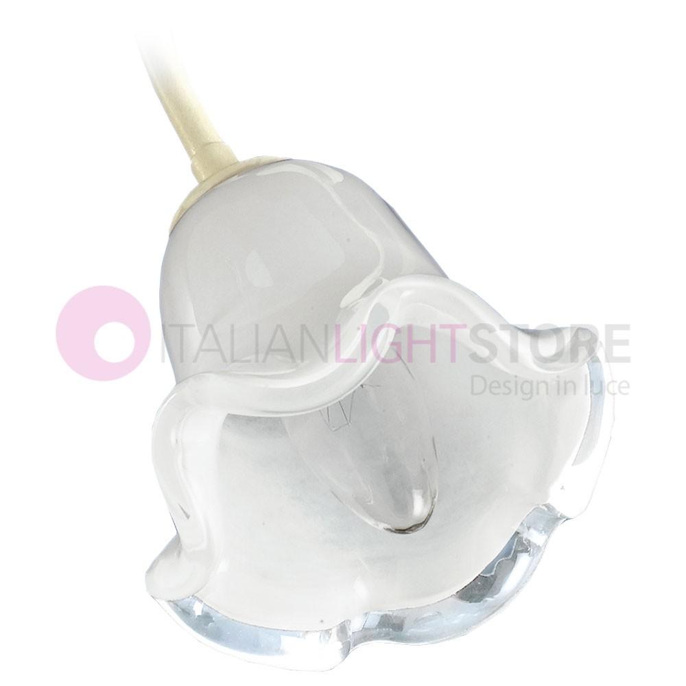 Vetro coppa ricambio per lampadario applique lampada plafoniera lumetto ALICE