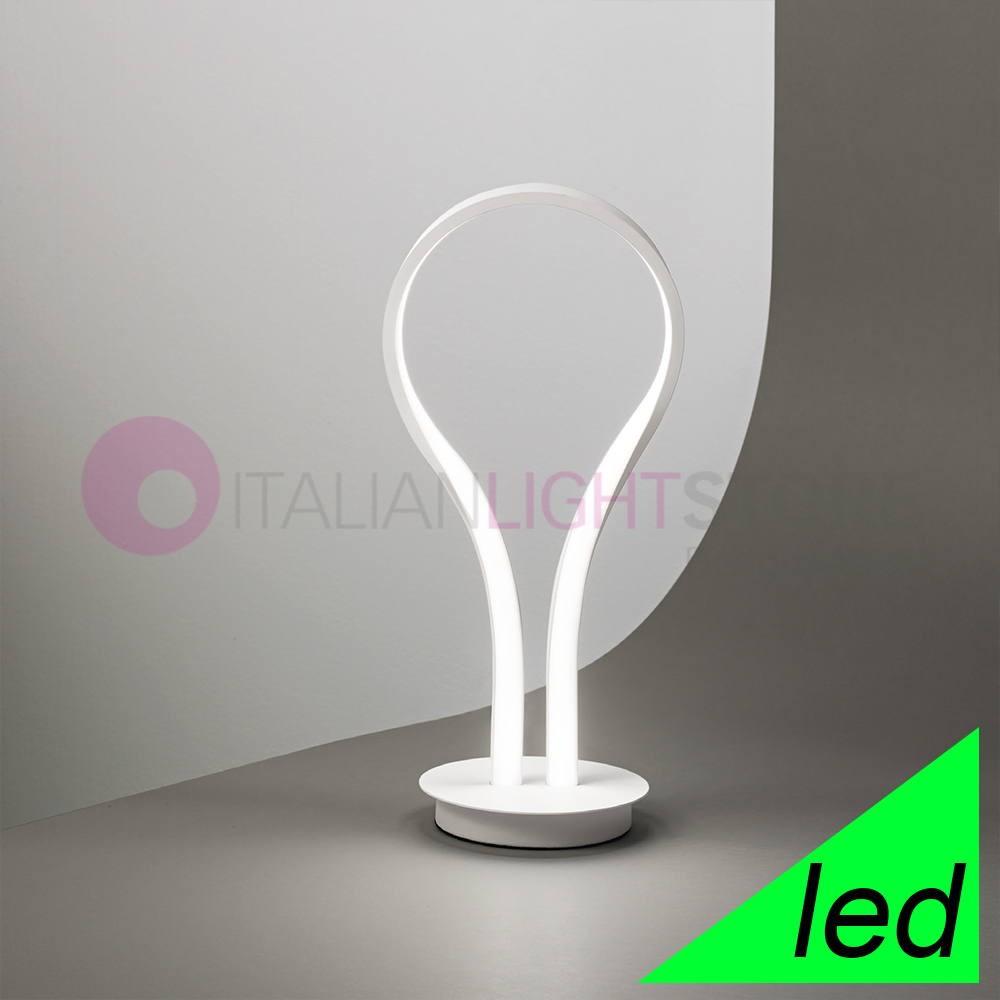 Perenz Blossom 6616 Blc Lampada Da Tavolo Led Design Moderno