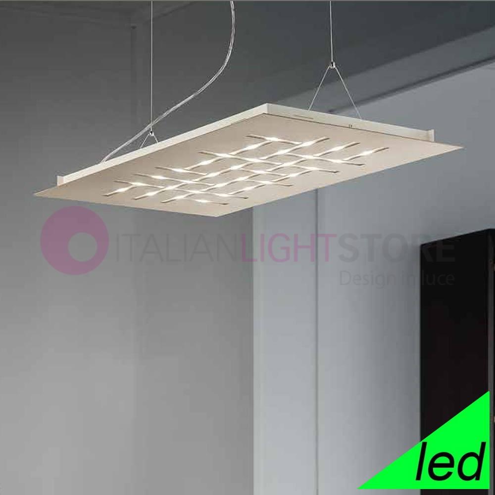 Pattern Sospensione Led Design Moderno 2095s80 Braga Illuminazione