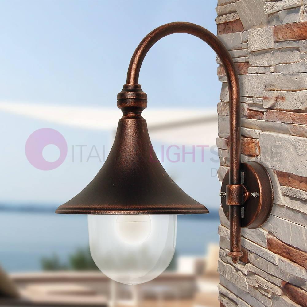 Lampade Per Porticati Esterni dione nero lampada per esterno tradizionale per illuminazione giardino
