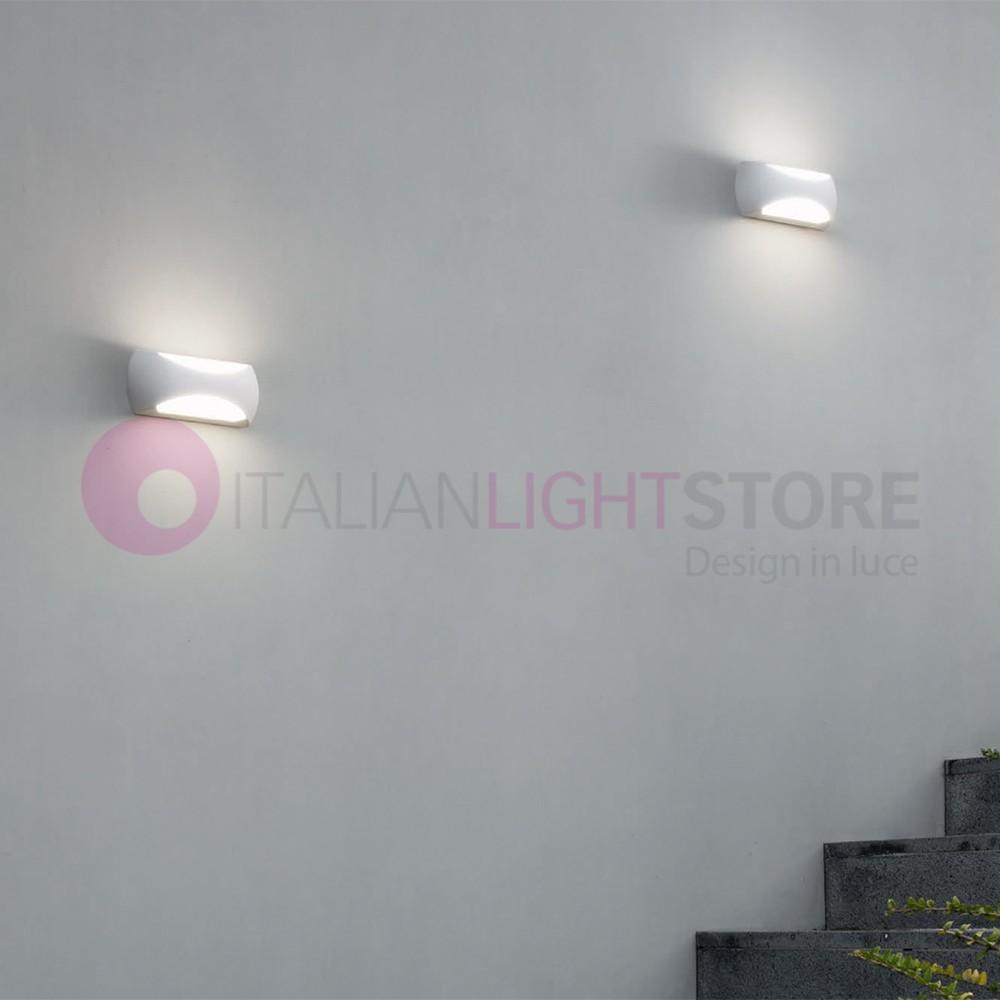 Illuminazione Led A Muro camas lampada a parete da esterno moderna a led ip65
