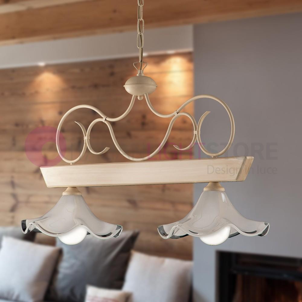 Lampade Da Soffitto Per Taverna lampadari da soffitto in stile shabby provenzale casa di