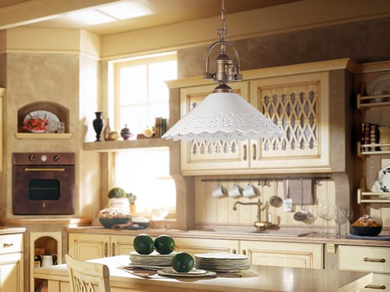 Illuminazione cucina country una collezione di idee per