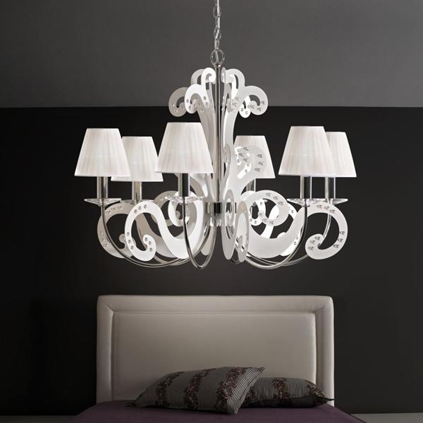 Illuminazione camera da letto moderna classica etnica e country - Camera da letto etnica ...