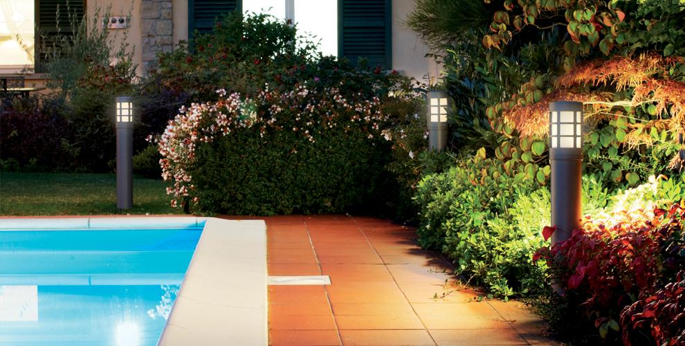 Illuminare l estate con i lampioni da giardino e non solo for Lampioni da giardino obi