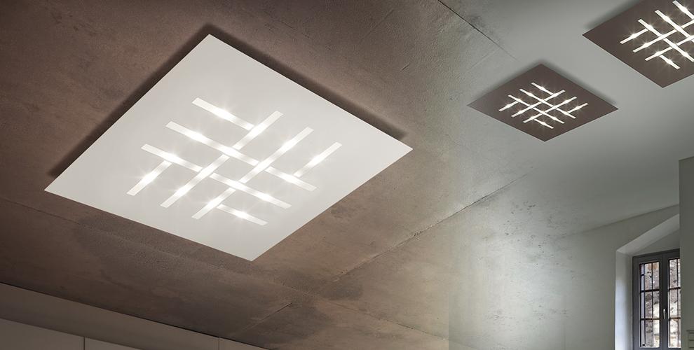 Plafoniere Per Salone : Lampadari per soggiorno moderno moderni